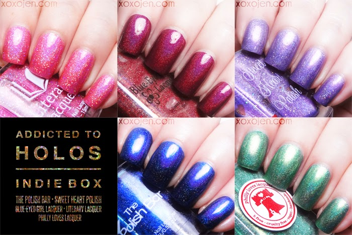 xoxoJen's collage of the Addicted to Holos Box