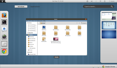 GNOME Shell desktop running Metal X 1.2 + Faince icon theme