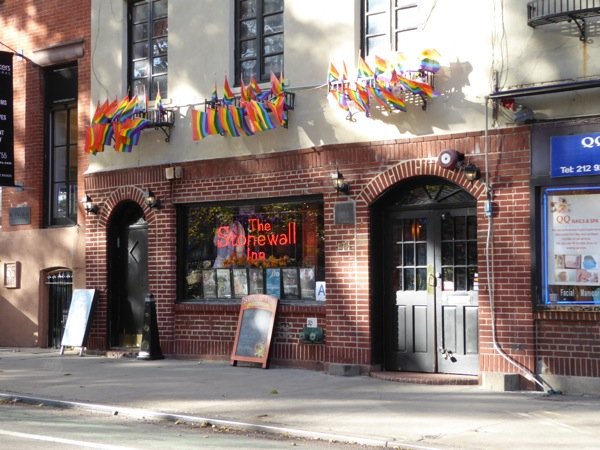 Stonewall Inn Christopher St NYC
