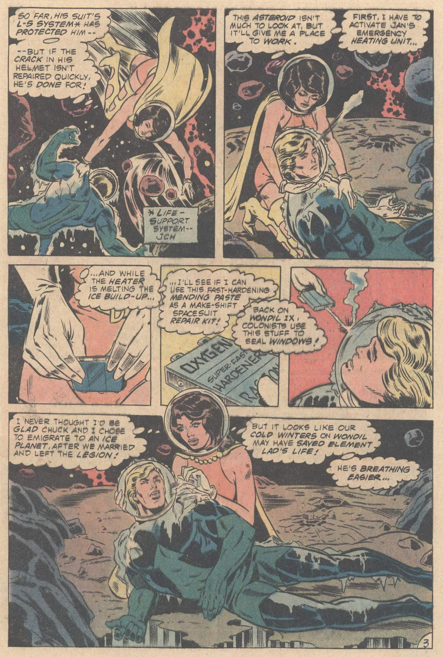 Legion of Super-Heroes (1980) 267 Page 4