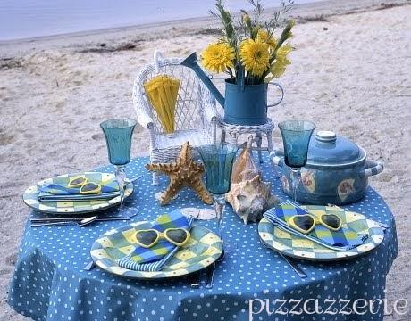 Beach Dinnerware Sets & Table Decor Accessories ...