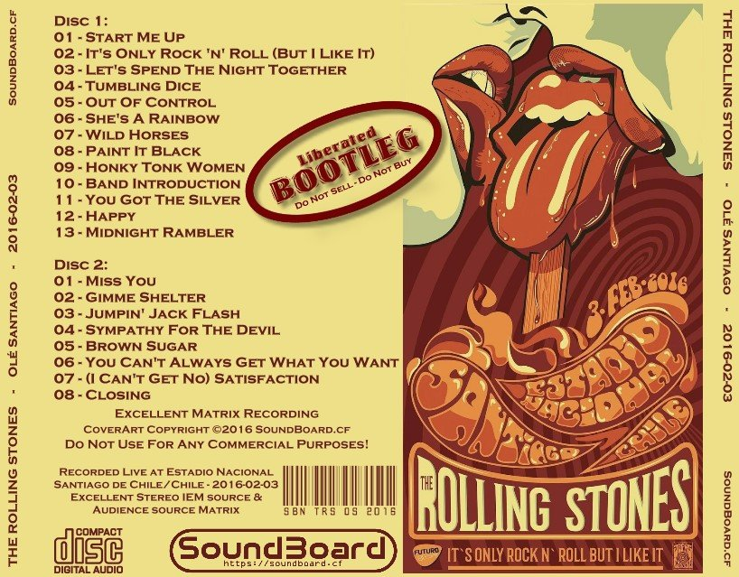 RELIQUARY: Rolling Stones [2016 02 03] It's Only Rock N