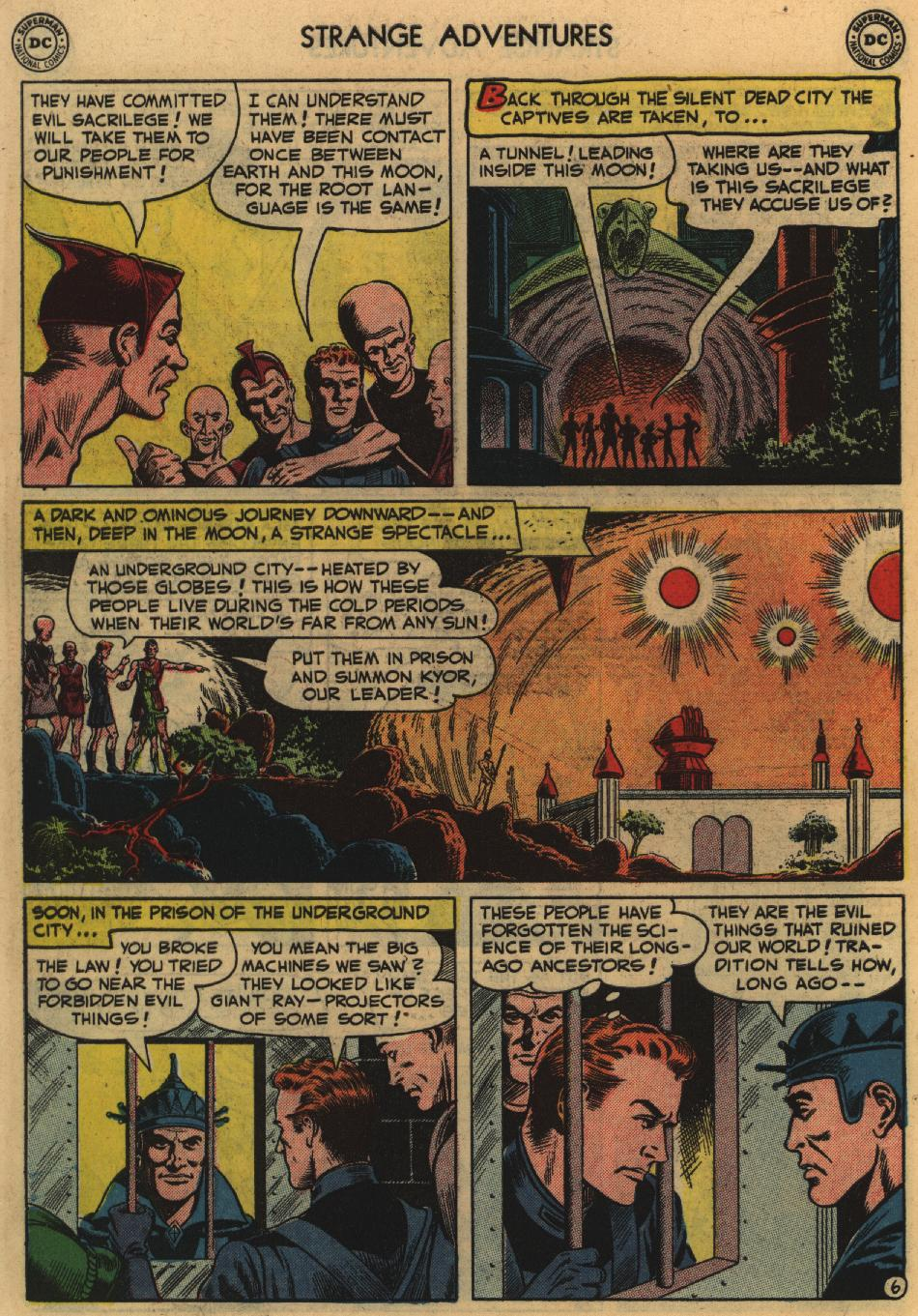 Strange Adventures (1950) issue 11 - Page 44