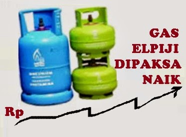 kenaikan harga tabung gas 12 kg dan penarikan subsidi pemerintah