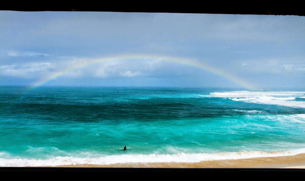 57 Vans World Cup of Sufing 2014 Rainbow Foto ASP