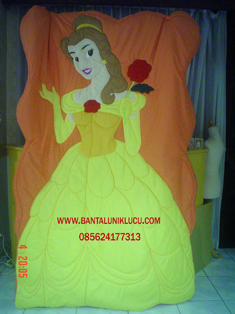 Bed Cover Unik Belle