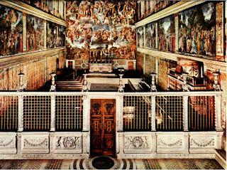 Sistine Chapel: wall paintings