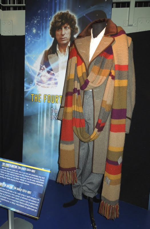 Tom Baker 4th Doctor Who costume