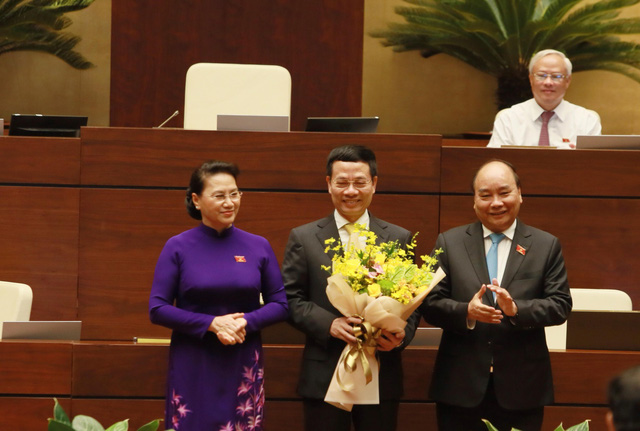 Ông Nguyễn Mạnh Hùng được phê chuẩn làm Bộ trưởng Thông tin - Truyền thông