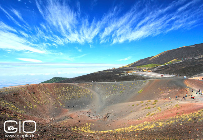 Photo: Silvestry crater Sicily