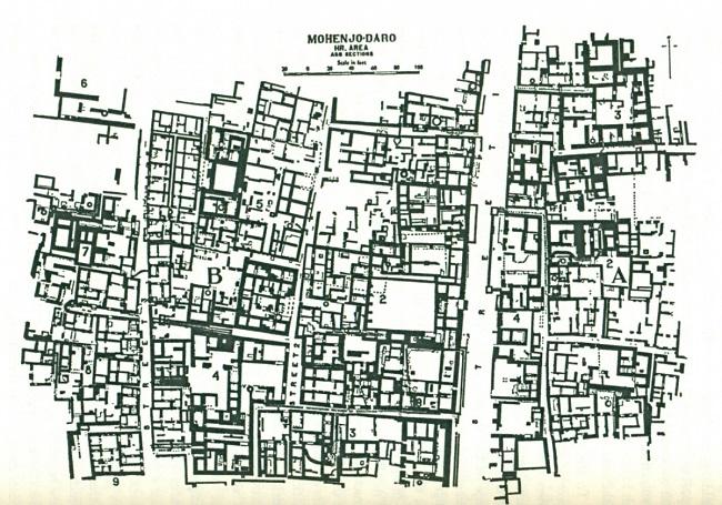 Mohenjodaro-town-planning