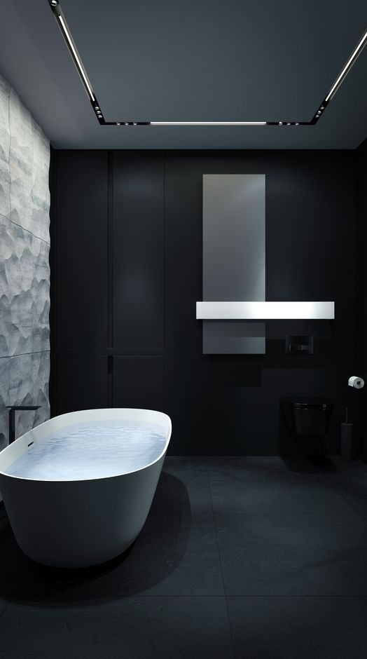 amazing black bathroom decor inspiration