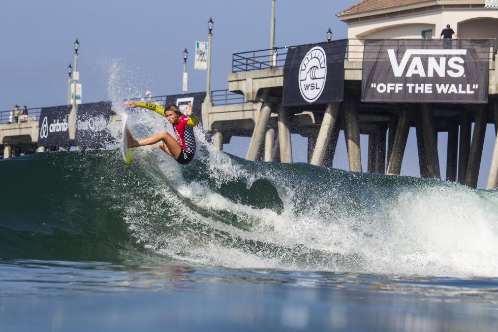 2 Keely Andrew Vans US Open of Surfing foto Sean Rowland WSL