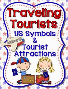 http://www.teacherspayteachers.com/Product/US-Symbols-and-Tourist-Attractions-with-The-Traveling-Tourists-CC-Aligned-645471