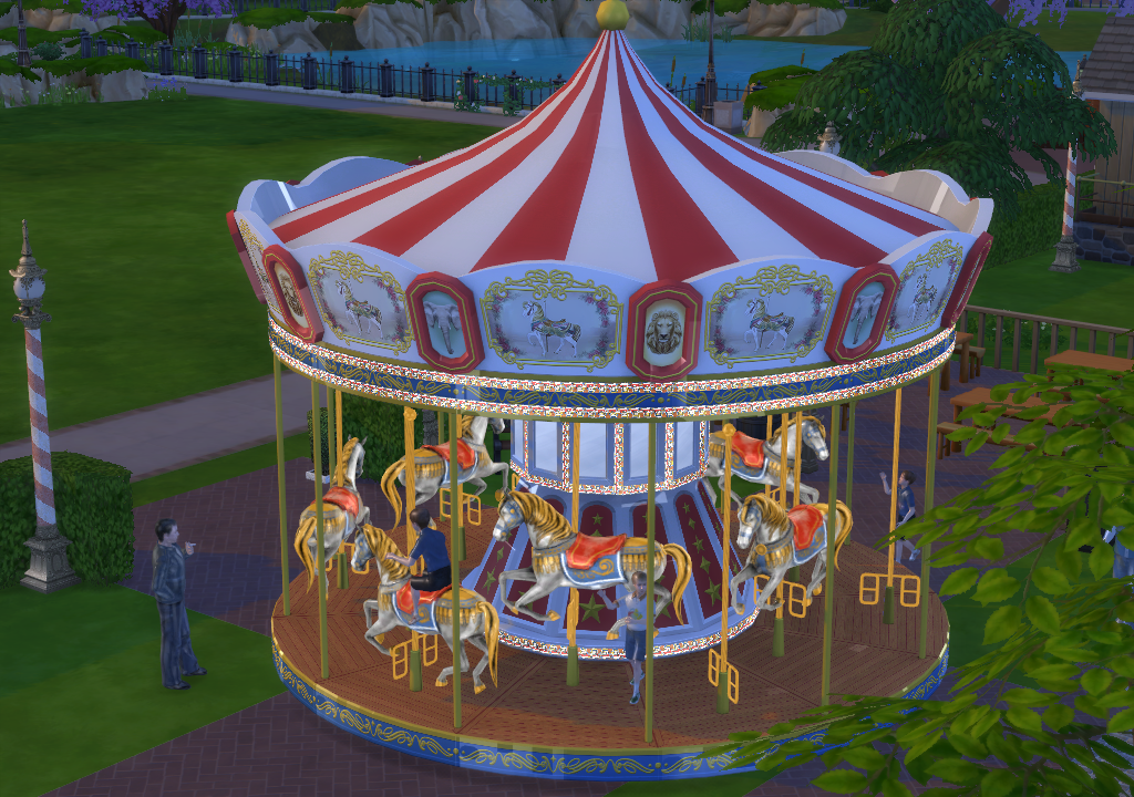My Sims 4 Blog TS3 Circus Conversions By EnureSims