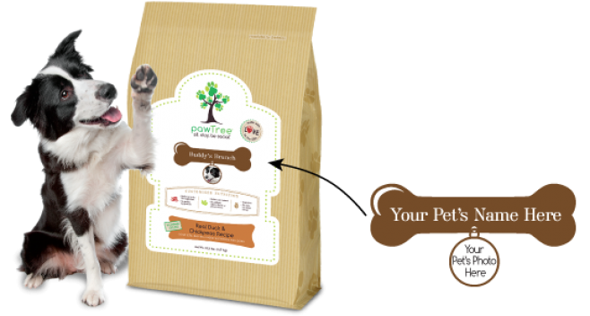 Pawtree pet products and all natural dog food for All natural pet cuisine