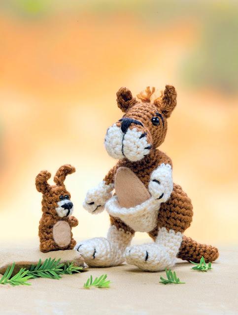 kangaroo Crochet pattern