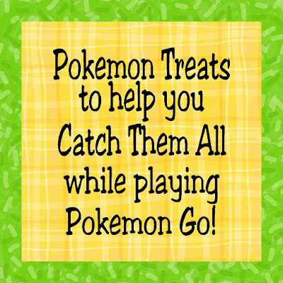 With Pokémon Go all the rage in my house and all throughout the neighborhood, I thought it would be fun to gather up some fun Pokémon Treats to enjoy while playing Pokémon Go or having a Pokémon party.