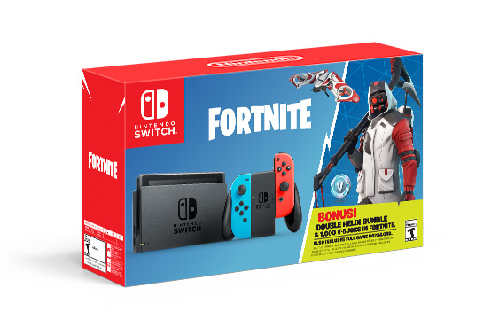 Nintendo Announces Fortnite Nintendo Switch Console Bundle Which Offers Some Extra Freebies