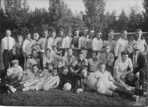 Краматорск. Футбольная команда в 1926 году