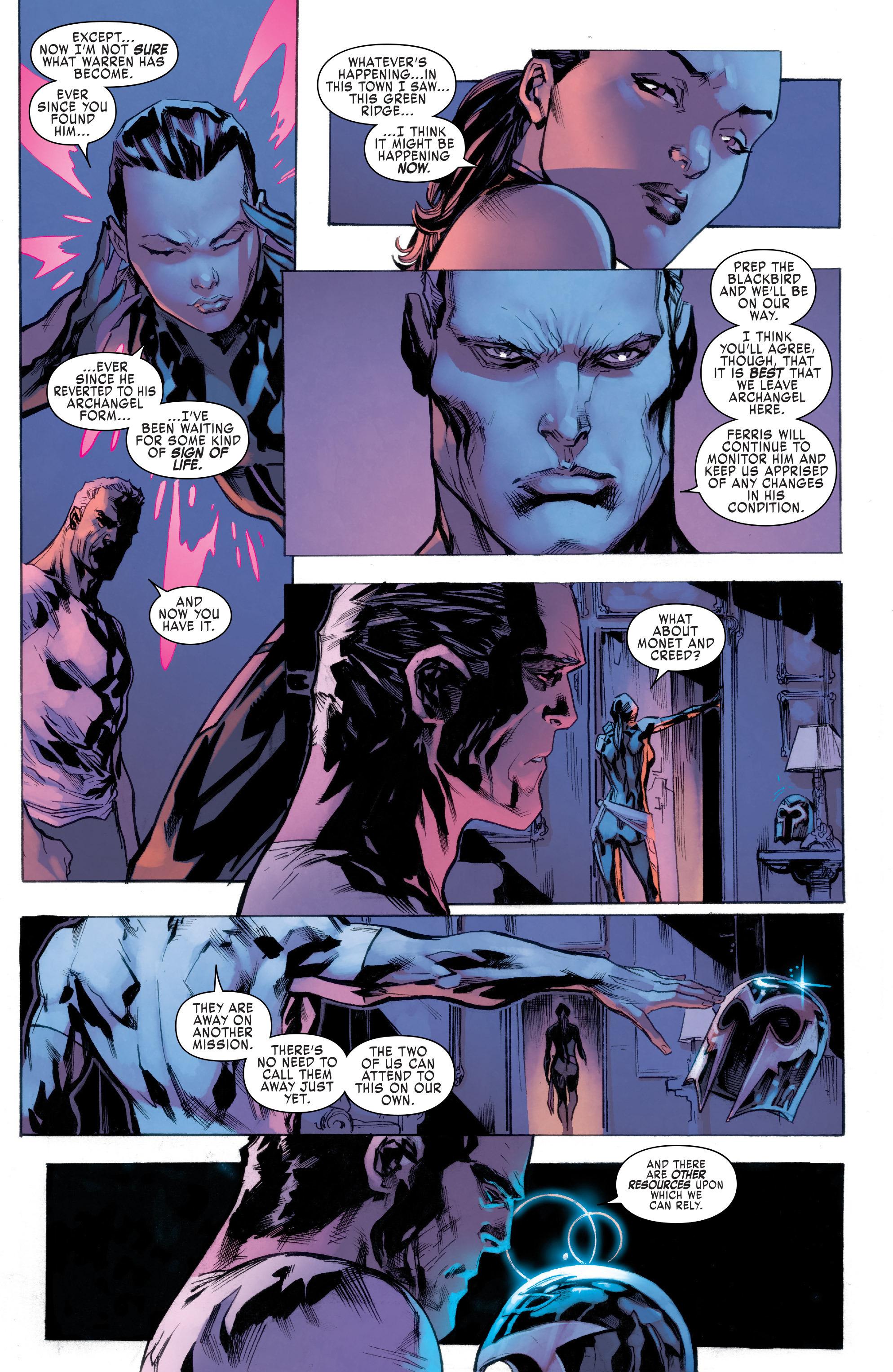 Read online Uncanny X-Men (2016) comic -  Issue #6 - 10
