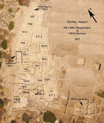 Σημαντικά ευρήματα στο νεκροταφείο Πετρά Σητείας