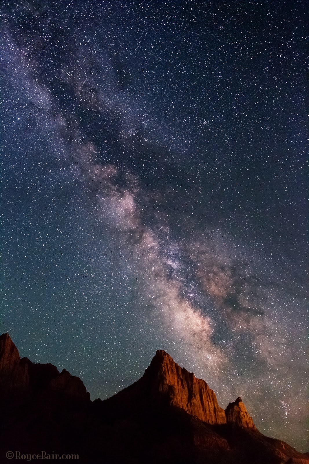 Into The Night Photography: View of the Milky Way with ...