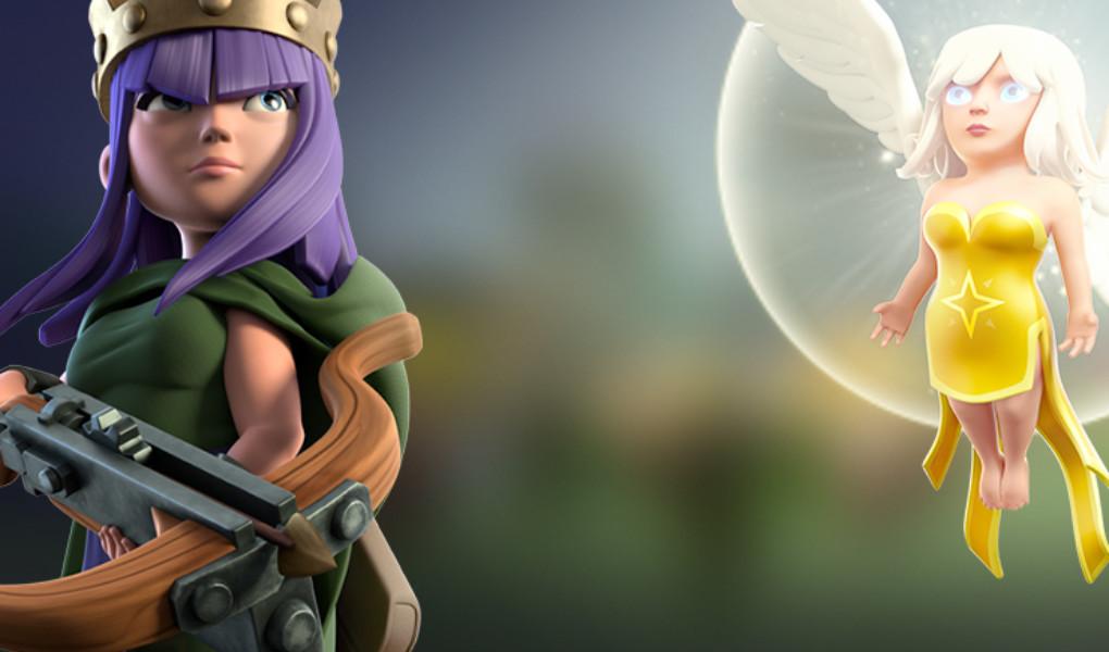 Cara Menyerang di COC Menggunakan Archer Queen+Healer