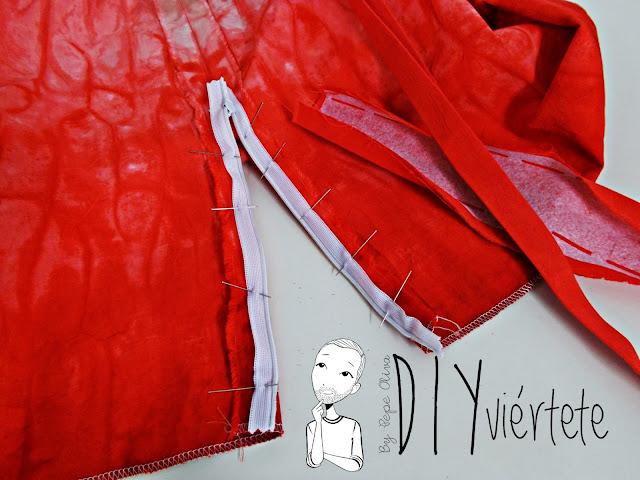DIY-tintes iberia-teñir-rojo-verde-verano-fruta-sandía-estampado-melón-watermelon-falda-pepefalda-newlook-999