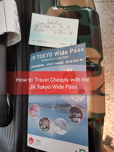 THE RED LIPPIE ADVENTURES: How to Travel Tokyo Cheaply with the JR TOKYO Wide Pass