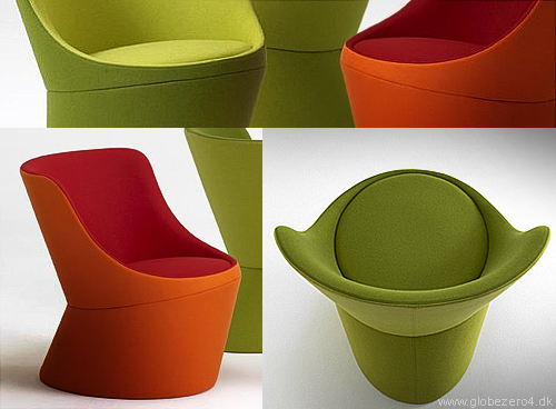 Sculptural confort: DIDI lounge chair by Globe Zero 4