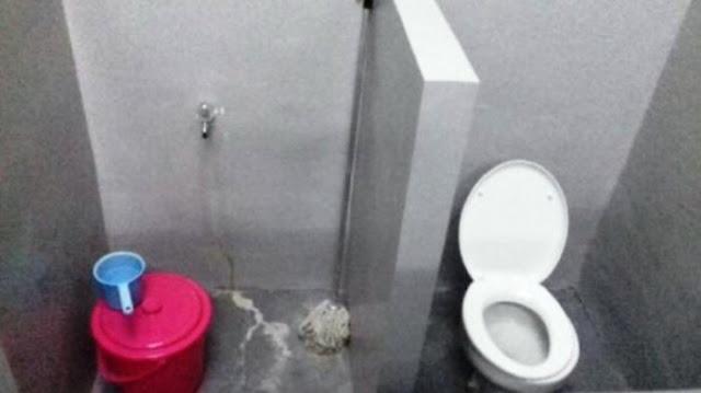 Toilet di Sel Tahanan KPK