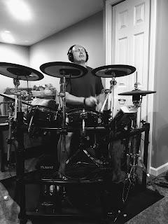 Graham Sedam, blog, thoughts, life, interests, 7 reasons why I blog, writing, write, electronic drums, music, headphones, basement studio, sound