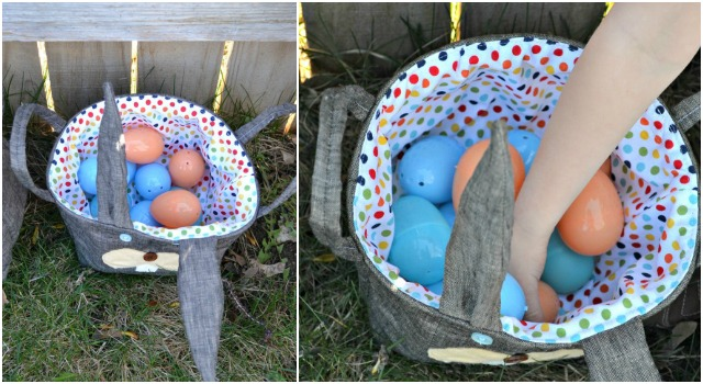 Home Decor: DIY Easter Bunny Baskets
