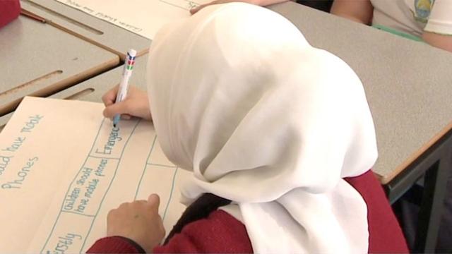 girls banned running in islamic school