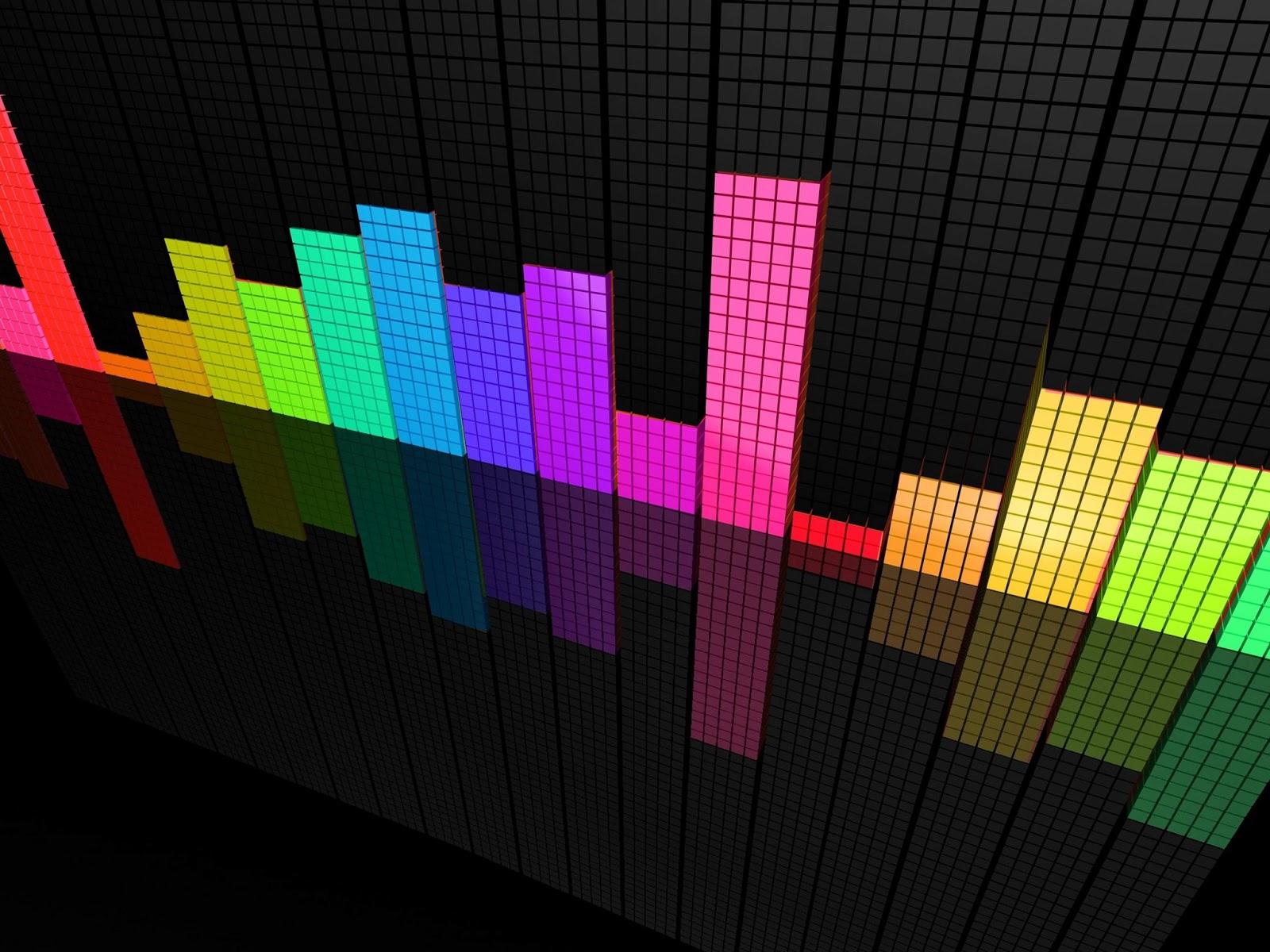Fondo De Pantalla Abstracto Barras De Colores: Descarga Fondos HD: Fondo Pantalla Abstracto