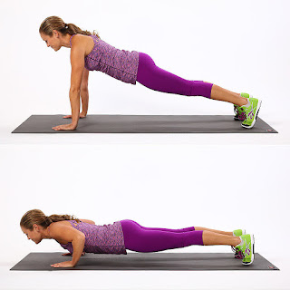 push up pose