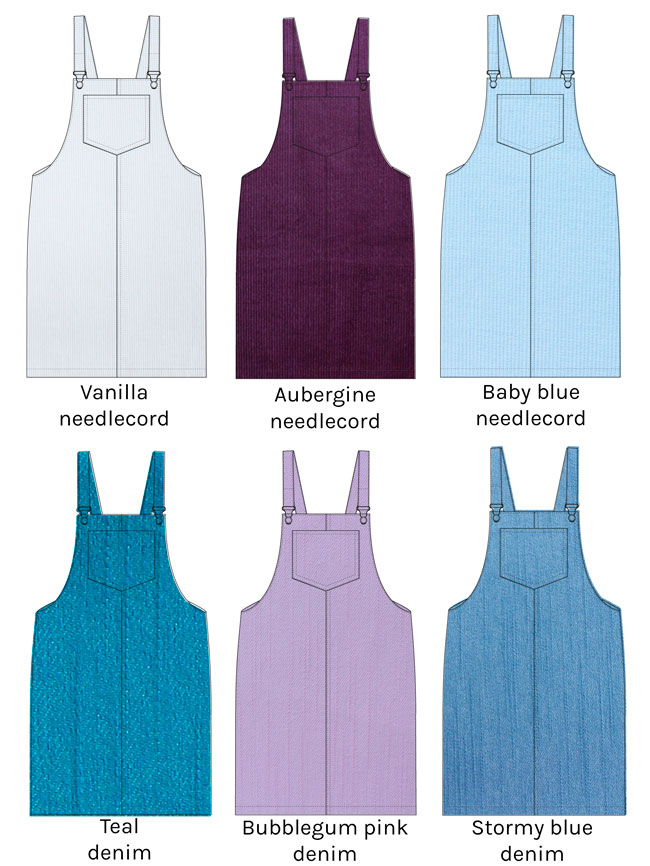 Cleo pinafore sewing pattern - Tilly and the Buttons