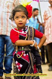 Sambalpuri day cute girl photo