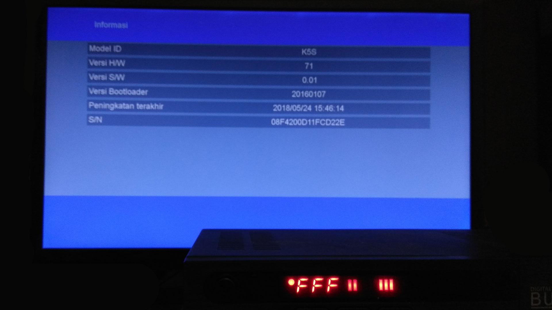 Cara Upgrade Software Matrix Burger K5S 8MB Pakai SW 4MB