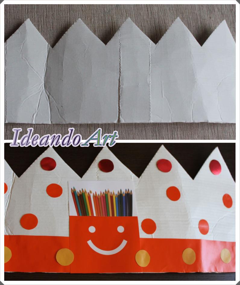 Decorando corona cumpleaños