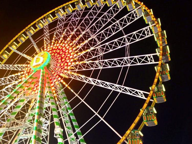 Schueberfouer 2014 Riesenrad Jahrmarkt Heimat Luxemburg Glacis Fouer ferris wheel foire