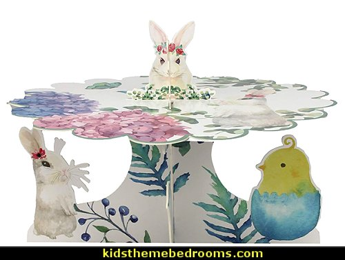 Easter Rabbit Dessert Themed Party Decoration cake stand