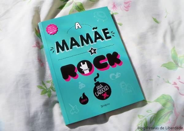 Resenha, livro, A-mamãe-é-rock, Ana-Cardoso, Belas-letras, capa
