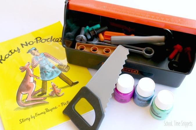 paint with tools preschool process art