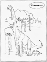 dinosaur coloring pages for kids free