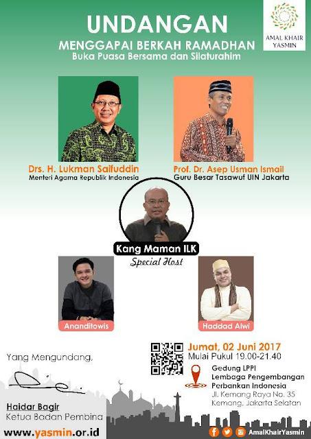 Waspadalah! Tokoh Syiah Adakan Kegiatan Bulan Ramadhan di Jaksel pada 2 Juni 2017 Mendatang