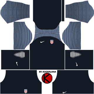 United State (USA) Kits 2016/2017 -  Dream League Soccer