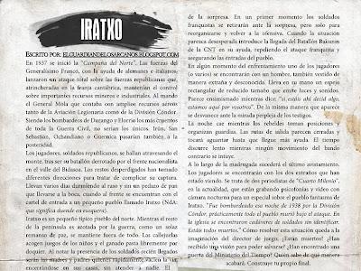 Iratxo - aventura para el sistema Hitos durante la Guerra Civil española