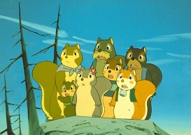Puschel, a mókus